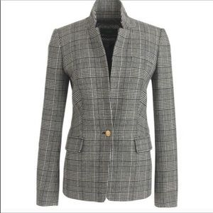 Nwot j.crew regent blazer in plaid